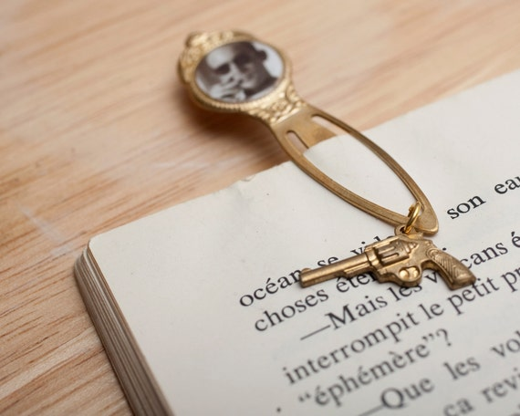 Unique Bookmark - Book Nerd - Literature Gift - Librarian Gift - Writer Gift - Author - Goth Accessories - Hunter S. Thompson Bookmark -