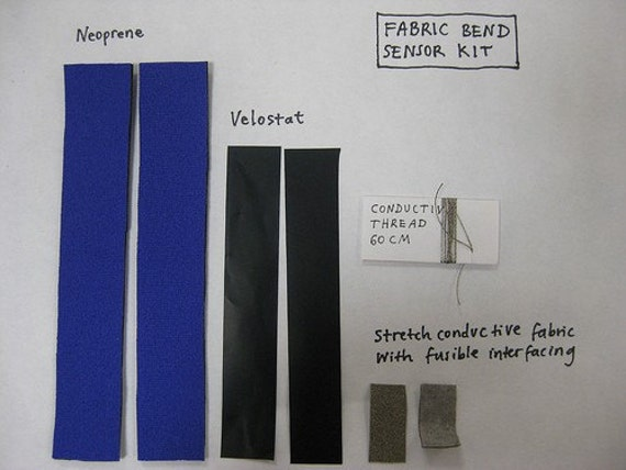 Fabric Bend Sensor KIT