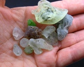 10 Genuine Bonfire Sea Glass Pieces from the St. Lawrence River