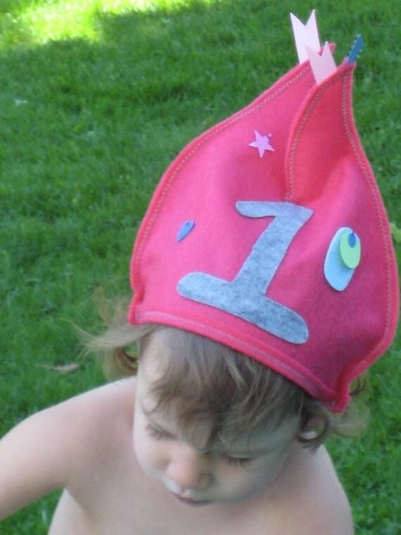 Party Hats - Felt Birthday Hats for Children