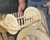 SpinOlution Mach II or Hopper Jumbo Art Yarn Flyer and bobbin - BRAND NEW ITEM