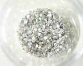 200 pcs Glass Gems/Rhinestones SS12 (3.2mm) AB Crystal