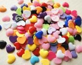 SALE 15 pcs Assorted Heart Cabochon (13mm15mm) DR235 (((LAST)))