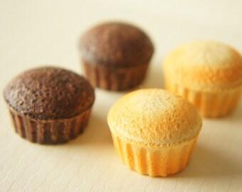 4 pcs Plain Cupcake Cabochon (27mm) CC025