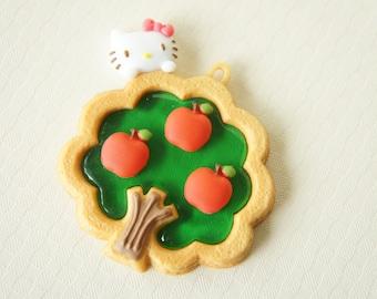 LIMITED Hello Kitty Charm Apple Tree (50mm51mm) (((LAST)))