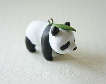 LIMITED Panda Charm Bamboo Leaf (H40mm)
