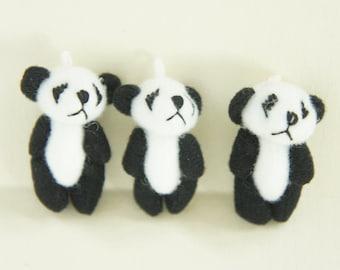 3 pcs Panda Doll Charm (45mm) DO025