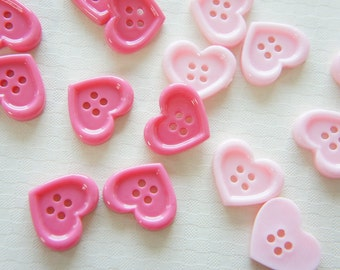 SALE 8 pcs Heart Button/Cabochon (18mm21mm) IK104 (((LAST/no restock)))