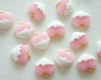 8 pcs Peach Ice Candy Cabochon (16mm) CD399