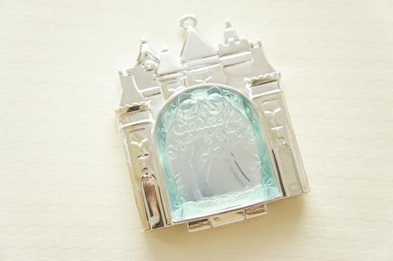1 pc Big Mirror Compact Charm (56mm73mm) Cinderella