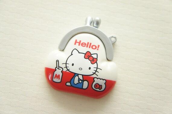 1 pc Hello Kitty Mirror Charm (43mm47mm) -Coin Purse- (((LAST)))