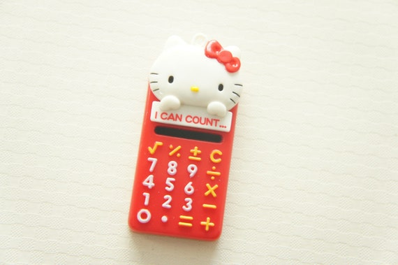 1 pc Hello Kitty Mirror Charm (28mm60mm) -Cell Phone-