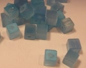 Cats Eye Aqua Cubes 4mm