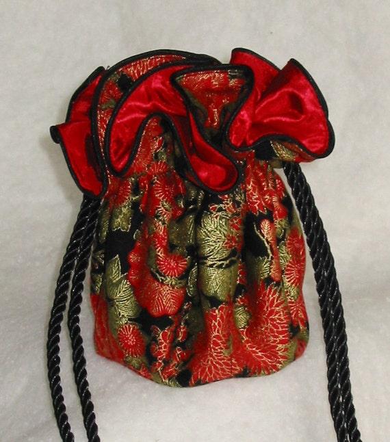 Ювелирные изделия Чехол Путешествия Организатор в красном, черном, зеленом и золотом