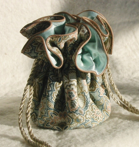 Desert Flowers Jewelry Pouch, travel organizer