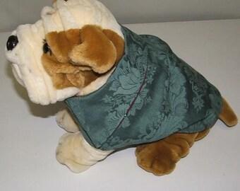 Victorian Brocade Doggie Coat