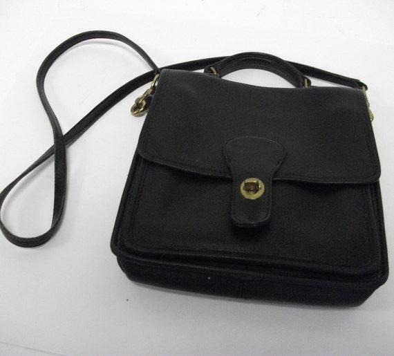 Classic Vintage Coach Mini Briefcase Shoulderbag