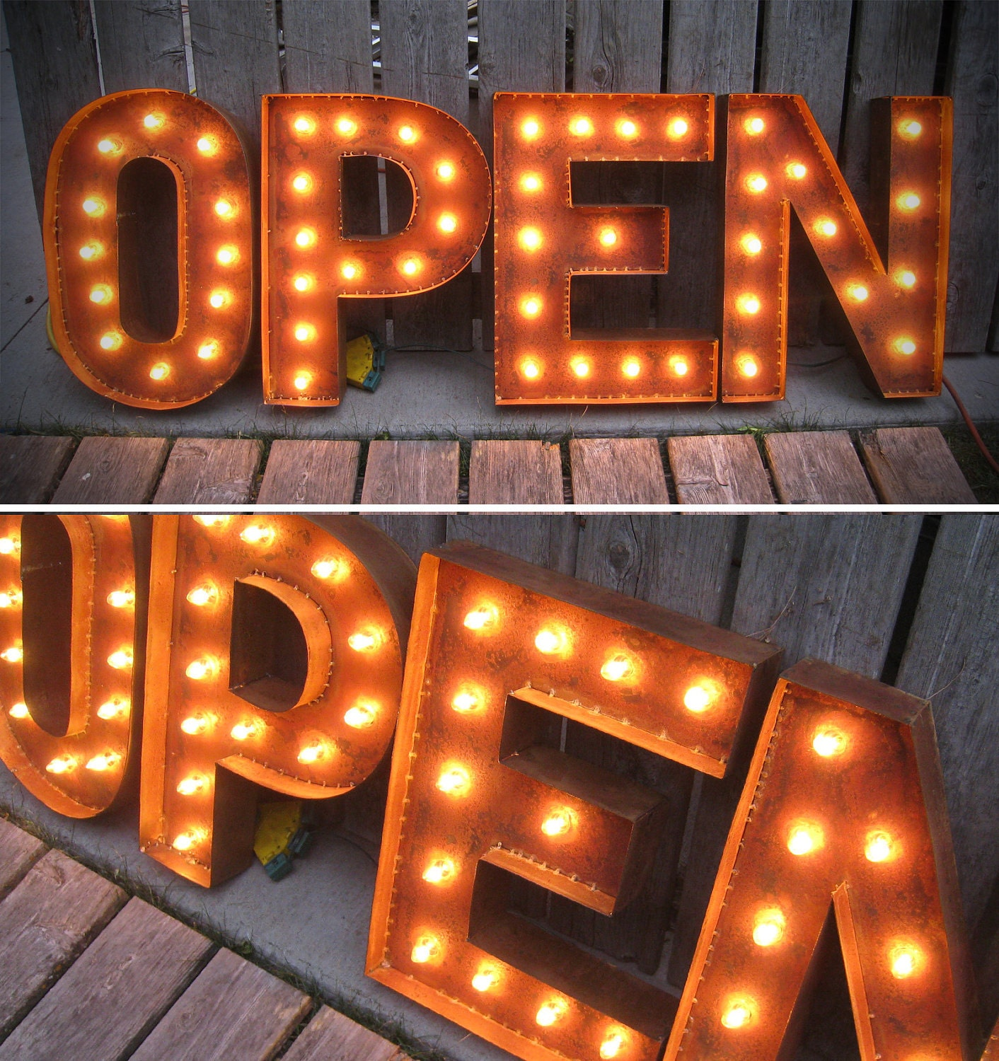 marquee letter lights 19 open letters marquee lights with patina 17385
