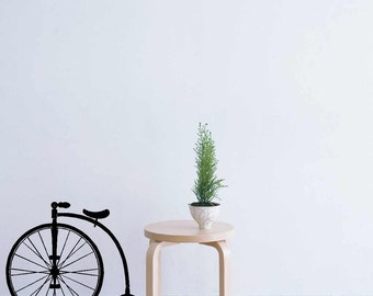 Old fashioned Bicycle - Vinyl Wall Art