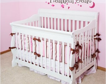 Personalized Name for wall or above crib Vinyl Wall Decor Decal Item KC42