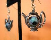 Coffee shop earrings