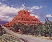 Vintage Postcard - Bell Rock, Lower Oak Creek Canyon -Arizona