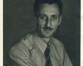 Vintage 1930s Photograph - Portrait of a Man