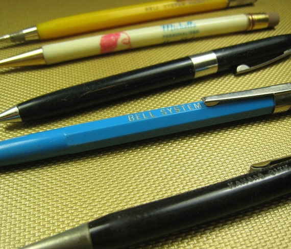 VINTAGE Pens and Pencils - Lot of 5