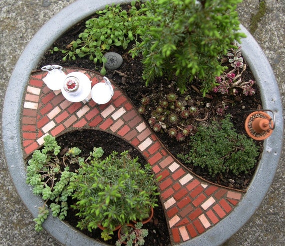 Mini Patio Mix Kit For Miniature or Fairy Gardens Paths or Patios Won't wash away NEW SHIPPING METHOD
