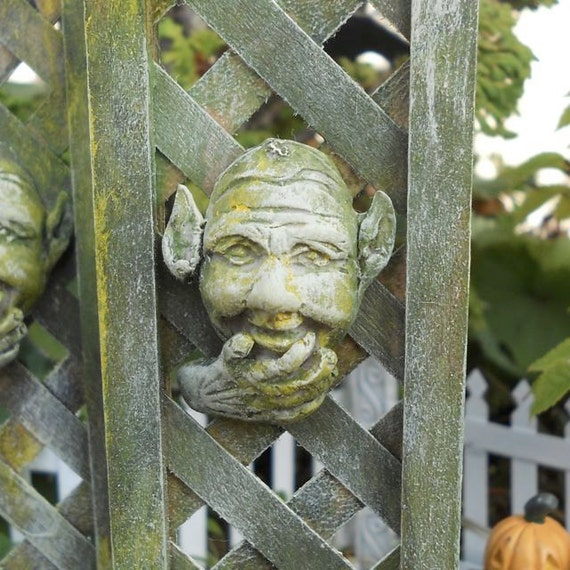 Miniature Garden Art, Goth Steampunk Mini, Fairy or Terrarium Garden