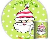Cookies for Santa Plate/Cup Set
