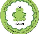 Froggy Melamine Prayer Plate
