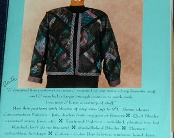 Picture This coat pattern by Jukebox one size fits most UNCUT