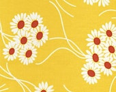 DESTASH -- Denyse Schmidt Katie Jump Rope Yellow Daisy Bouquet -- 1 FQ