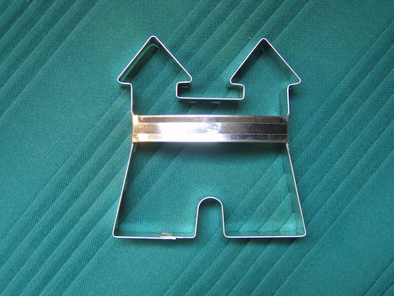 Castle Cookie Cutter With Custom Handle By West Tinworks