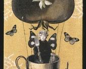 Steampunk Fairy Art - Snack Fairy
