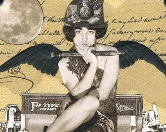 Steampunk Typewriter Fairy - Calliope Cookie