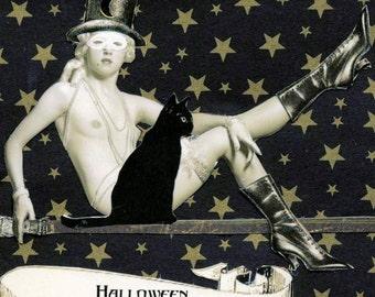 Halloween Print - Alizee and Ouija
