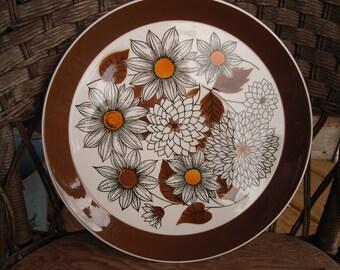 Vintage Mikasa Frolic Platter Seibel