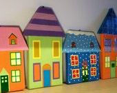 Fairytale village - House no 1- Original artwork