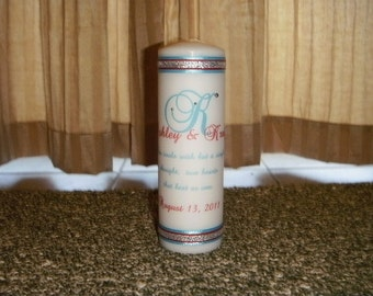 Two Souls Two Hearts Unity Candle Set