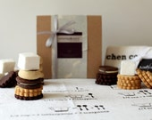 Mother's Day Cookie Gift Box with Tea Towel