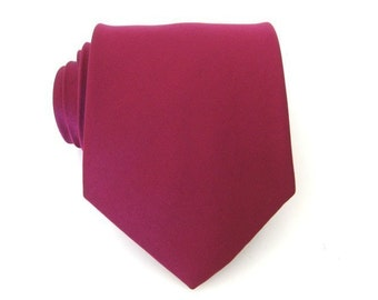 Spiced Wine  Berry Bouquet Necktie - Inspired by David's Bridal's Spiced Wine Silk Tie
