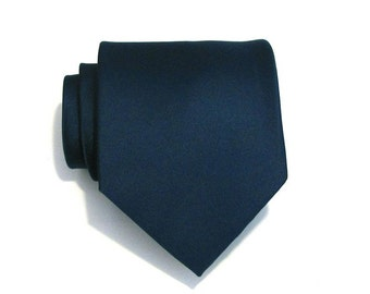 Necktie for Men Dark Teal Silk Necktie