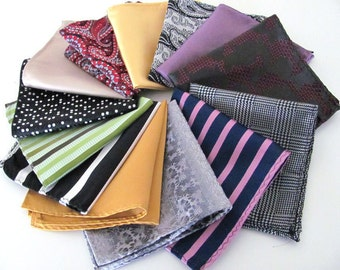 Twenty Four Pocket Squares