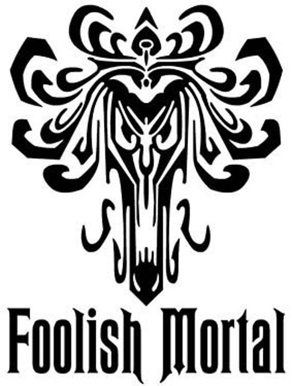 Items similar to Haunted Mansion, FOOLISH MORTAL Vinyl ...