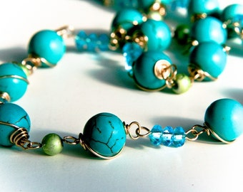 Romantic Sea  Necklace