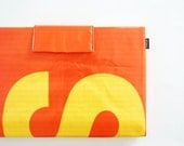 MacBook Pro Sleeve Case 15 inch No. 48 - Recycled Billboard Banner - Eco-Friendly - EXPRESS SHIPPING