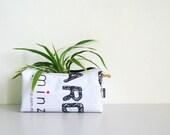 Planter (Medium) No. 12 - Recycled Billboard Banner - Eco-Friendly