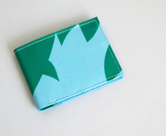Bifold Wallet No. 94 - Recycled Billboard Banner - Eco-Friendly